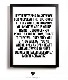 Tues with Morrie quote