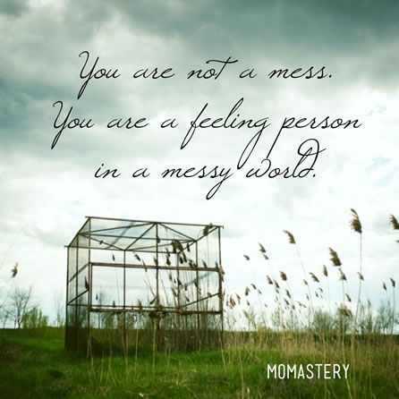 You are not a mess